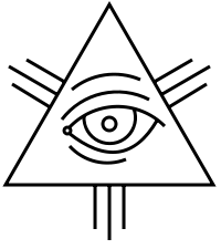 A Christian symbol, the Eye of Providence.